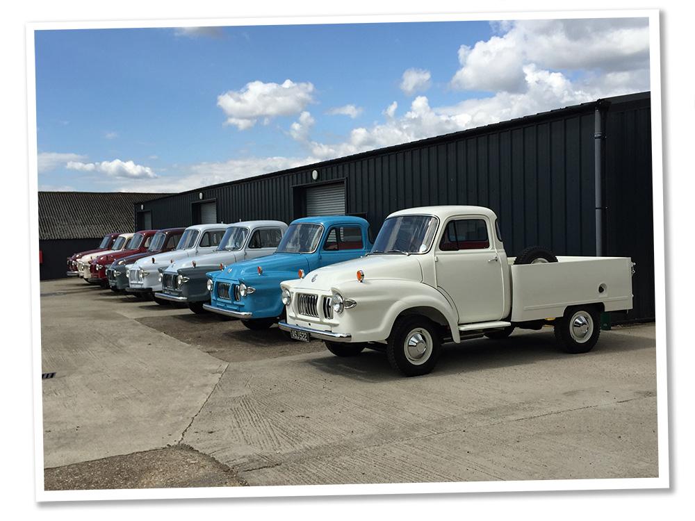Joe's vintage trucks