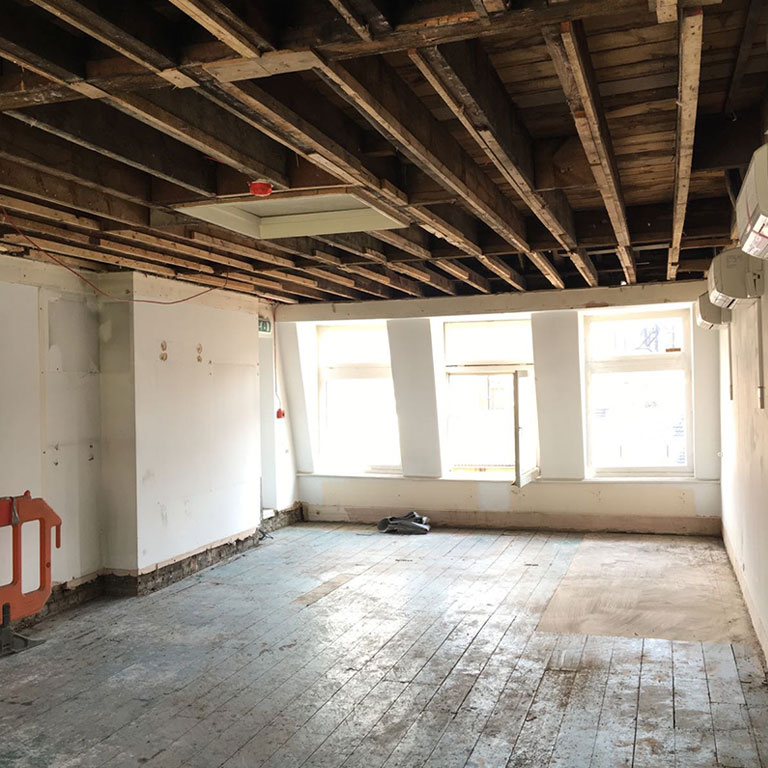 Strip Out, Brompton Road, London